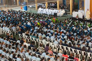 All Saints Catholic College News and Events school assembly