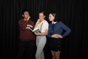 All Saints Catholic College Co-curricular Performing Arts - students on drama class