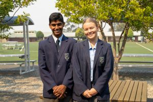 All Saints Catholic College Facilities Campus Feel - students on school grounds
